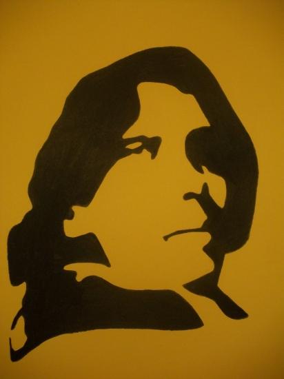 Oscar Wilde by Selene